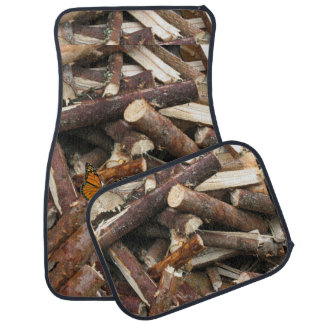 Woodpile Floor Mat