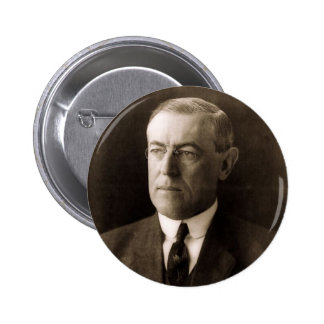 Woodrow Wilson 6 Cm Round Badge