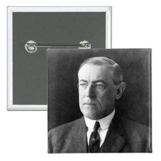 Woodrow Wilson 15 Cm Square Badge