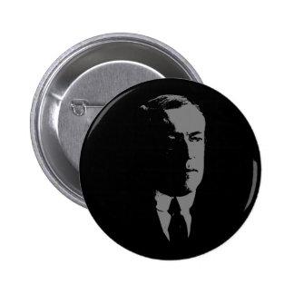 Woodrow Wilson silhouette 6 Cm Round Badge