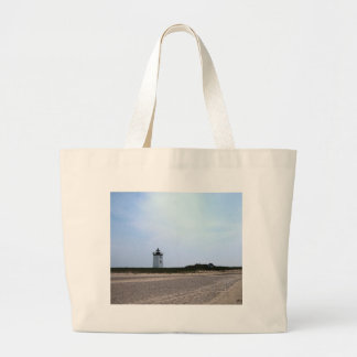 Woods End Lighthouse - Provincetown, MA Large Tote Bag