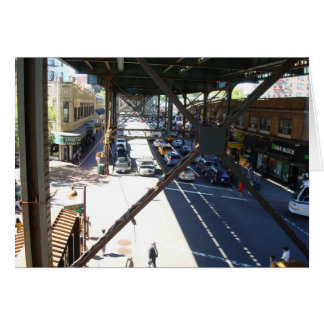 Woodside Street View from Station Greeting Card