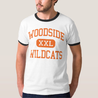 Woodside - Wildcats - High - Woodside California T-Shirt