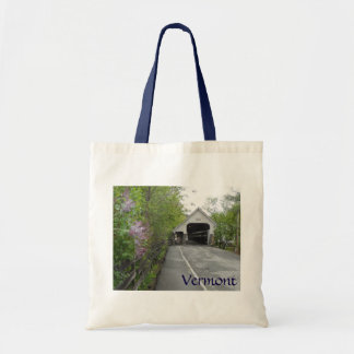 Woodstock Covered Bridge, Vermont Budget Tote Bag