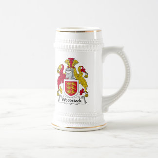 Woodstock Family Crest Beer Stein