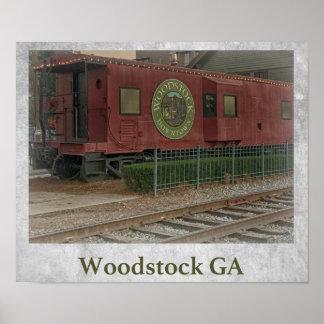 Woodstock GA Poster