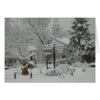Woodstock, NY Town Square Card