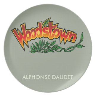 Wood'stown by Alphonse Daudet Plate