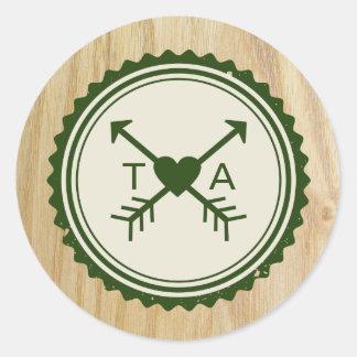 Woodsy Wedding & Glamping Sticker