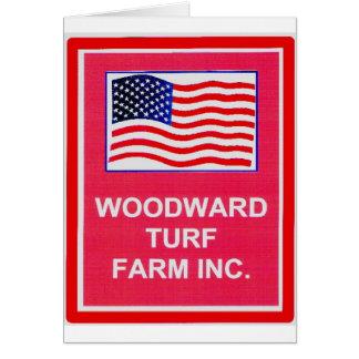 WOODWARD TURF FARM INC. CARD
