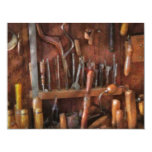 Woodworker - Old tools 11 Cm X 14 Cm Invitation Card