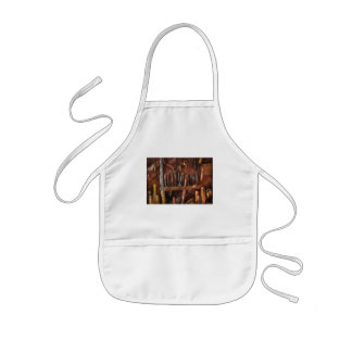 Woodworker - Old tools Kids Apron