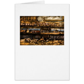 Woodworker - Planes & Augers Greeting Card