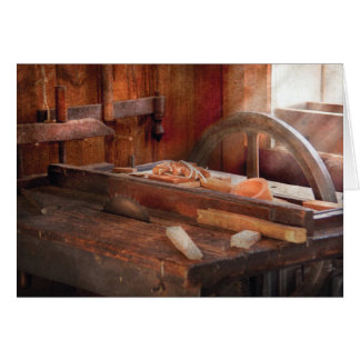 Woodworker - The Table Saw Greeting Card