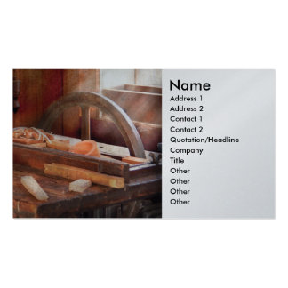 Woodworker - The Table Saw Pack Of Standard Business Cards