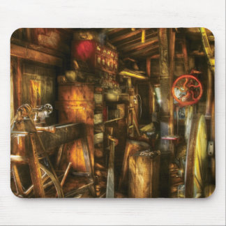 Woodworker - The workshop of a very busy person Mouse Pad