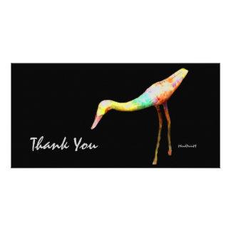 Woody Bird Photo Greeting Card