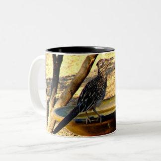 Woody on Bird Bath Coffee Mug