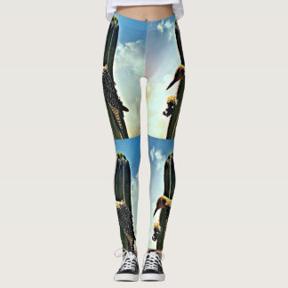 Woody On Saguaro Women's Leggings