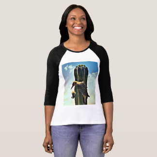 Woody on Saguaro Women's Tee Shirt