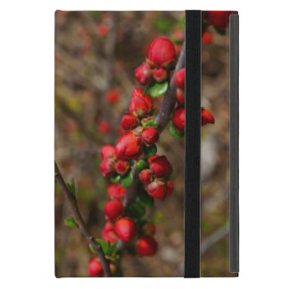 Woody Red Blooms Case For iPad Mini