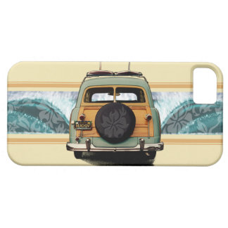 Woody Wave Surfer iPhone 5 Cases