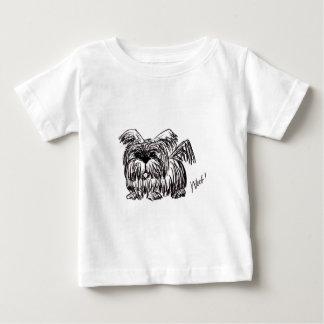 Woof A Dust Mop Dog Baby T-Shirt