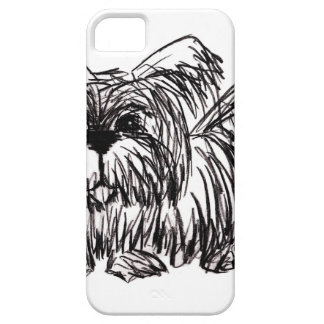 Woof A Dust Mop Dog iPhone 5 Cases
