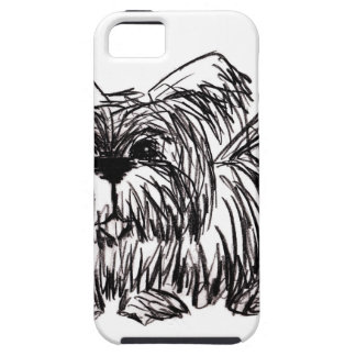 Woof A Dust Mop Dog iPhone 5 Cover