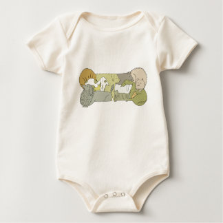 Woof Baby Bodysuit