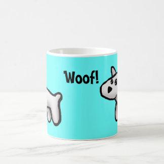 Woof! Basic White Mug