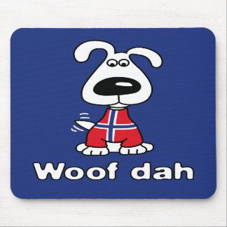 Woof Dah Mouse Pad