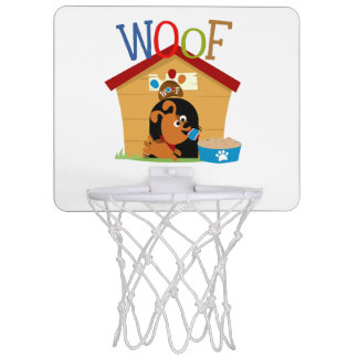 Woof Dog Mini Basketball Hoop