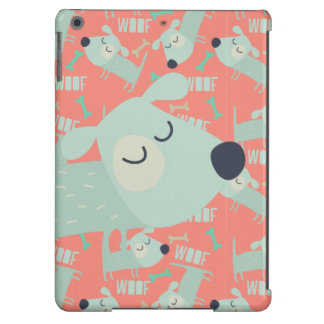 Woof Dogs and Bones Case For iPad Air