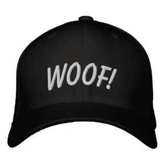 WOOF! EMBROIDERED HATS
