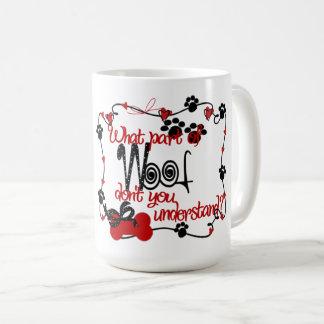 Woof Gift Classic Mug