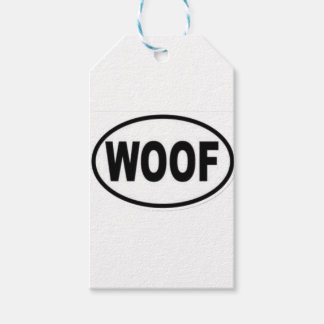 woof gift tags