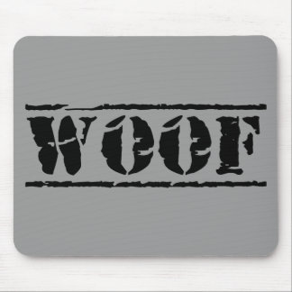 WOOF MOUSE PAD
