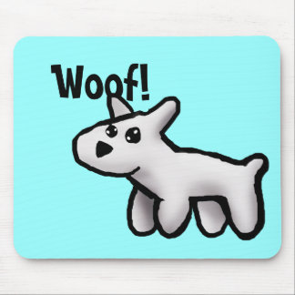 Woof Mouse Pads