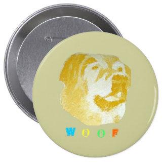 Woof Pinback Button