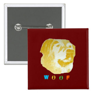 Woof Pinback Buttons