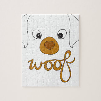 Woof Said the Puppy Jigsaw Puzzle