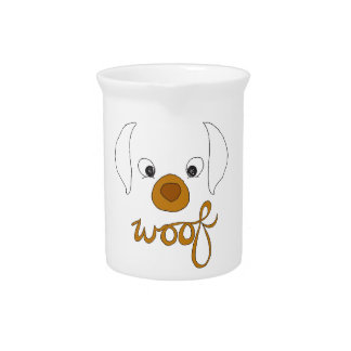 Woof Said the Puppy Pitcher
