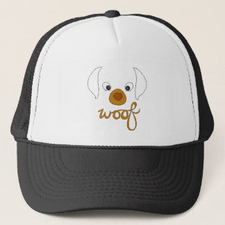 Woof Said the Puppy Trucker Hat
