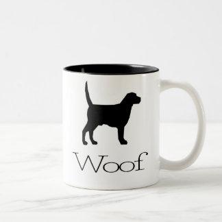 Woof Two-Tone Mug