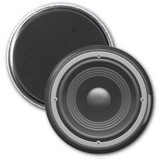 Woofer 6 Cm Round Magnet