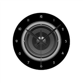 Woofer Wall Clock