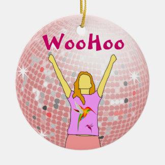 woohoo ornament