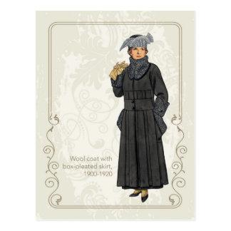 Wool Coat Postcard