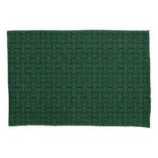 Wool Decorative Dark Green Pillowcase